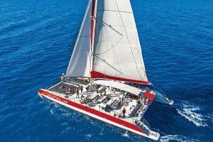 santorini catamaran1