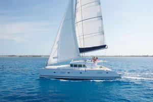 santorini catamaran2